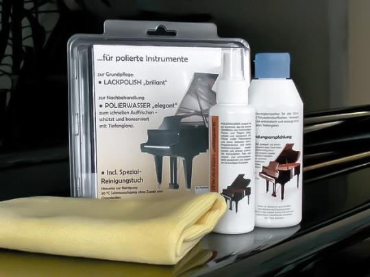 Maintenance set polyester upright and grand piano